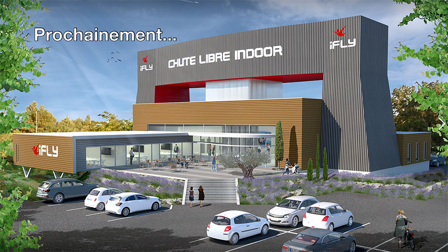 iFLY Aix-Marseille Rendering