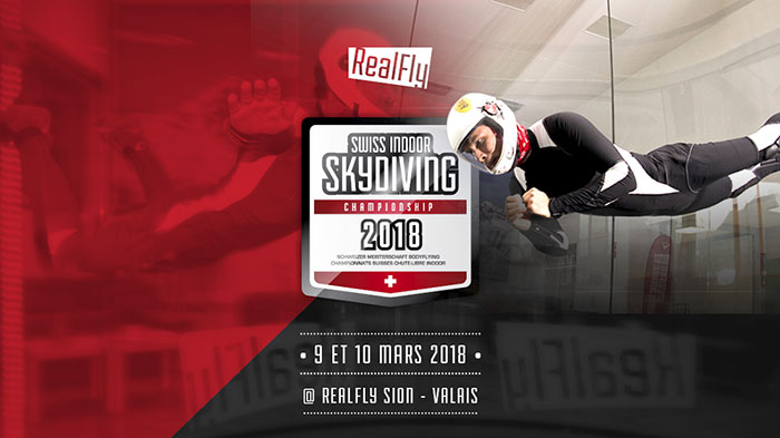 Swiss Indoor Skydiving Championship 2018 Flyer