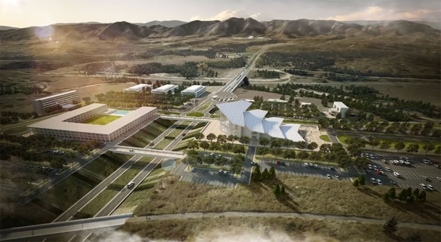 Airforce Academy Visitor Center Rendering