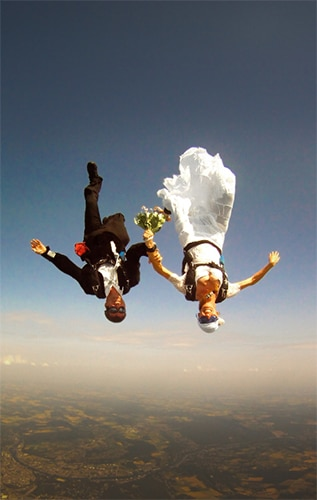 Skydiving Marriage