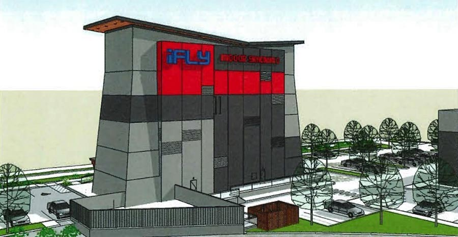 iFLY Vancouver BC Rendering Main