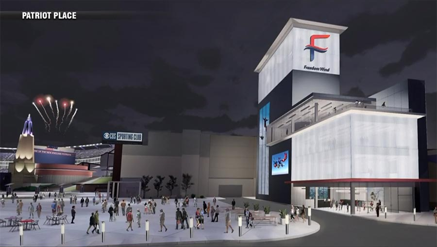 Freedom Wind Tunnel Rendering
