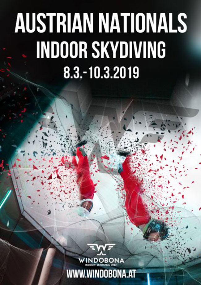 2019 Austrian Indoor Skydiving Championship Flyer