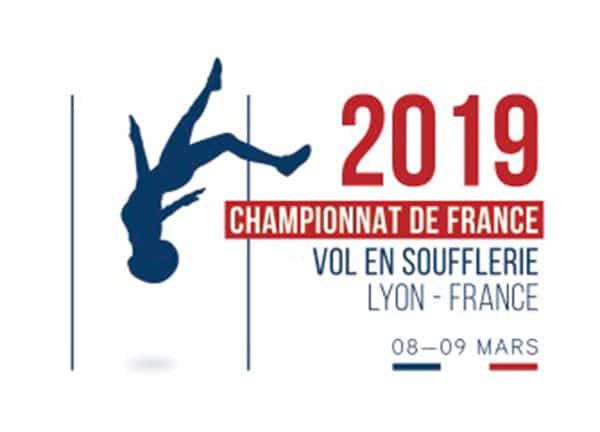 2019 French Indoor Skydiving Championship Flyer